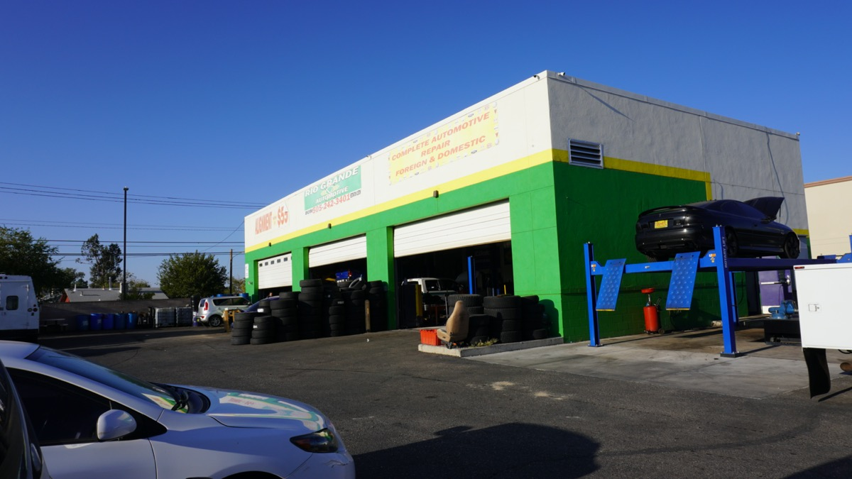 Rio Grande Automotive on Griegos and 2nd Street