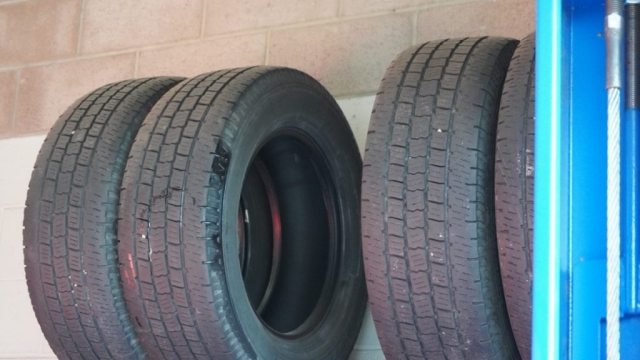 We install new tires on your vehicle